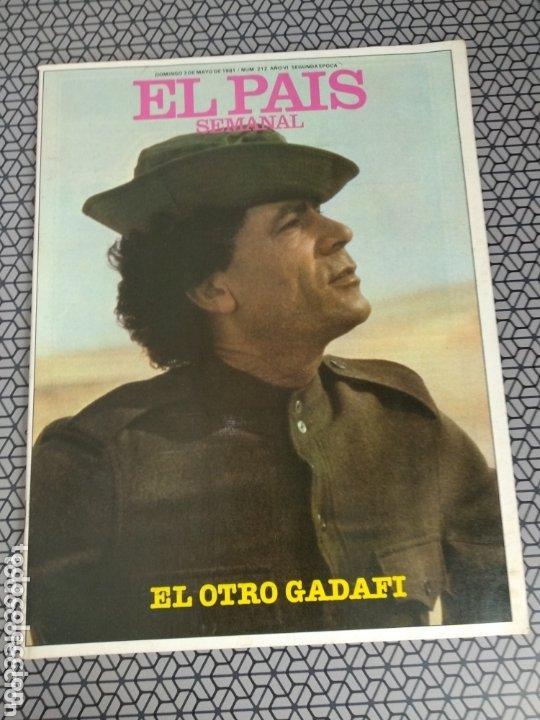 Coleccionismo de Periódico El País: Lote 19 revistas El País Semanal 1981 - Foto 18 - 174029685