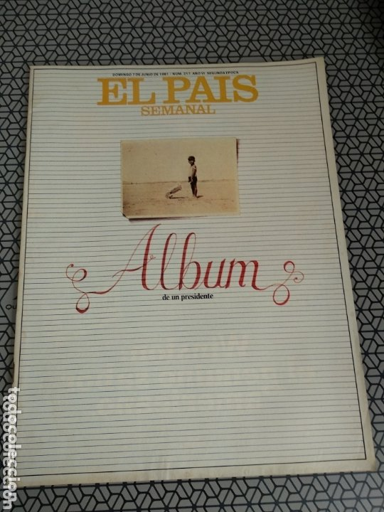 Coleccionismo de Periódico El País: Lote 19 revistas El País Semanal 1981 - Foto 19 - 174029685
