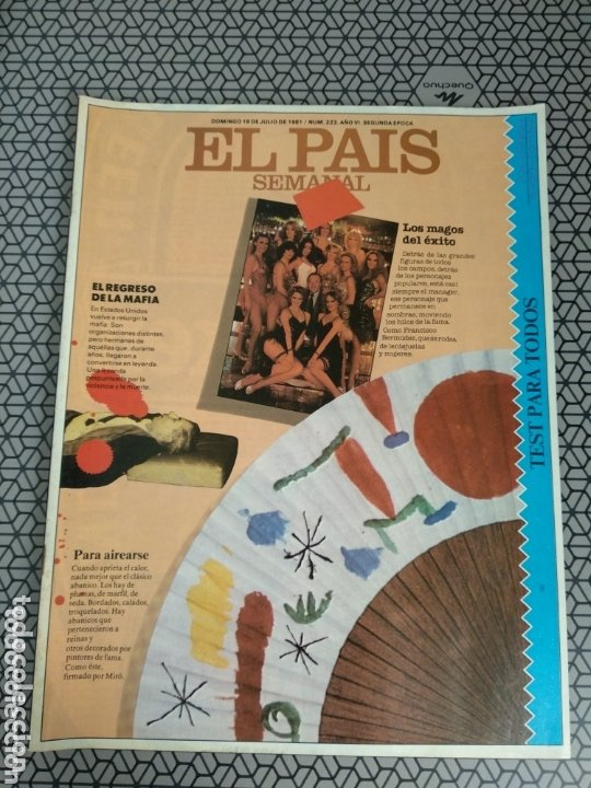 Coleccionismo de Periódico El País: Lote 19 revistas El País Semanal 1981 - Foto 2 - 174029685