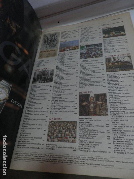 Coleccionismo de Periódico El País: PERIODICO EL PAIS Nº 10000 AÑO 2004 - Foto 3 - 175876738