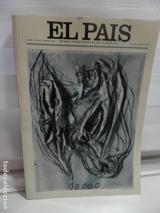 PERIODICO EL PAIS Nº 10000 AÑO 2004 (Coleccionismo - Revistas y Periódicos Modernos (a partir de 1.940) - Periódico El Páis)