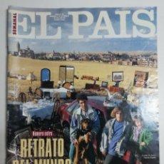 Coleccionismo de Periódico El País: EL PAÍS SEMANAL - NÚMERO 186 - 11 DE SEPTIEMBRE DE 1994 - NÚMERO EXTRA. RETRATO DEL MUNDO. Lote 177809955