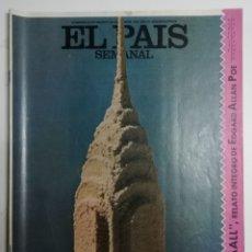 Coleccionismo de Periódico El País: EL PAÍS SEMANAL - NÚMERO 228 - 23 DE AGOSTO DE 1981 - HANS PFAALL. RELATO ÍNTEGRO DE EDGAR ALLAN POE. Lote 177809997