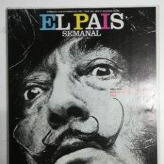 Coleccionismo de Periódico El País: EL PAÍS SEMANAL - NÚMERO 244 - 13 DE DICIEMBRE DE 1981 - DALÍ, 1904 - 1981. Lote 177810043