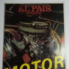 Coleccionismo de Periódico El País: EL PAÍS SEMANAL - NÚMERO 245 - 20 DE DICIEMBRE DE 1981 - ESPECIAL MOTOR. Lote 177810084