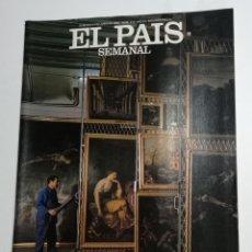 Coleccionismo de Periódico El País: EL PAÍS SEMANAL - NÚMERO 272 - 27 DE JUNIO DE 1982 - EL DESVÁN DEL MUSEO DEL PRADO. Lote 177810180
