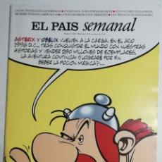 Coleccionismo de Periódico El País: EL PAÍS SEMANAL - NÚMERO 1046 - 13 DE OCTUBRE DE 1996 - ASTÉRIX Y OBÉLIX VUELVEN A LA CARGA. Lote 177810668