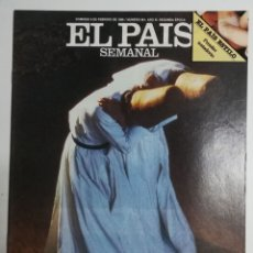 Coleccionismo de Periódico El País: EL PAÍS SEMANAL - NÚMERO 461 - 9 DE FEBRERO DE 1986 - LOS DERVICHES, REPORTAJE DE JUAN GOYTISOLO. Lote 177810669