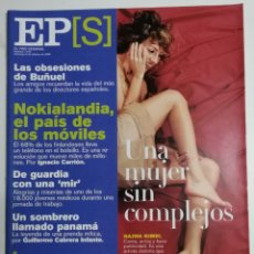 Coleccionismo de Periódico El País: EL PAÍS SEMANAL - NÚMERO 1219 - 6 DE FEBRERO DE 2000 - UNA MUJER SIN COMPLEJOS. NAJWA NIMRI. Lote 177810939