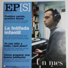 Coleccionismo de Periódico El País: EL PAÍS SEMANAL - NÚMERO 1271 - 4 DE FEBRERO DE 2001 - UN MES DE CINE. LA INTIFADA INFANTIL. Lote 177811010