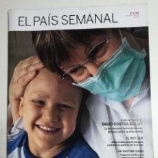 Collezionismo di Periódico El País: EL PAÍS SEMANAL - NÚMERO 1740 - 31 DE ENERO DE 2010 - CÁNCER INFANTIL. DAVID CONTRA GOLIAT. Lote 177811314