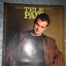 Coleccionismo de Periódico El País: TELE PAÍS 7 DICIEMBRE 1990 / NÚMERO 113 - AÑO III. SUPLEMENTO SEMANAL DE TV Y RADIO. PABLO CARBONELL. Lote 178674911