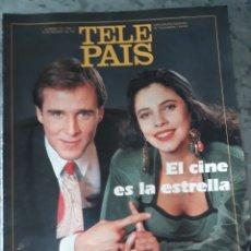 Coleccionismo de Periódico El País: TELE PAÍS 8 FEBRERO 1991/ NÚMERO 122 AÑO IV. SUPLEMENTO SEMANAL DE TV Y RADIO.. Lote 178683576