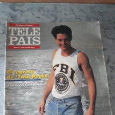 Coleccionismo de Periódico El País: TELE PAÍS, 24 FEBRERO/2 MARZO 1991. NÚMERO 1. SEGUNDA ÉPOCA.. Lote 178684083