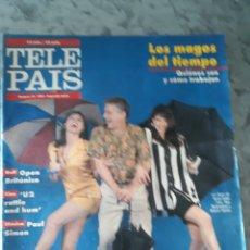 Coleccionismo de Periódico El País: TELE PAÍS, 14 JULIO/20 JULIO 1991. NÚMERO 21. SEGUNDA ÉPOCA.. Lote 178684328