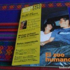 Coleccionismo de Periódico El País: EL PAÍS SEMANAL Nº 1239. 25-6-2000. GRAN HERMANO SALMAN RUSHDIE MICHAEL JACKSON LISE LONDON.. Lote 178716687