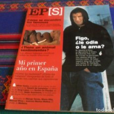 Coleccionismo de Periódico El País: EL PAÍS SEMANAL 1263 10-12-2000. LUIS FIGO REAL MADRID F.C. BARCELONA SERGI LÓPEZ TERCIOS DE FLANDES. Lote 178744488