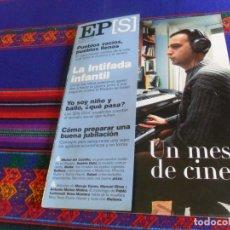 Coleccionismo de Periódico El País: EL PAÍS SEMANAL Nº 1271. 4-2-01. ALEJANDRO AMENÁBAR LOS OTROS LOS GOYA INTIFADA INFANTIL SOFHIE DAHL. Lote 178744706