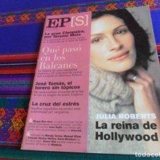 Coleccionismo de Periódico El País: EL PAÍS SEMANAL Nº 1281. 15-4-01. JULIA ROBERTS CLEOPATRA JOSÉ TOMÁS ESTRÉS BATALLA STALINGRADO.. Lote 178745458