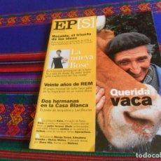 Coleccionismo de Periódico El País: EL PAÍS SEMANAL Nº 1282. 22-4-01. EL MAL VACAS LOCAS BIMBA BOSÉ 20 AÑOS DE REM REVEAL MICHAEL STIPE. Lote 178745523
