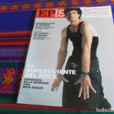 Coleccionismo de Periódico El País: EL PAÍS SEMANAL Nº 1310. 4-11-01. MICK JAGGER ROLLING STONES REAL MADRID F.C. BARCELONA ZAHIR SHAH.. Lote 178745962