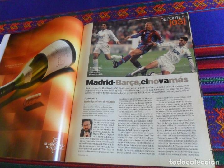 Coleccionismo de Periódico El País: EL PAÍS SEMANAL Nº 1310. 4-11-01. MICK JAGGER ROLLING STONES REAL MADRID F.C. BARCELONA ZAHIR SHAH. - Foto 2 - 178745962