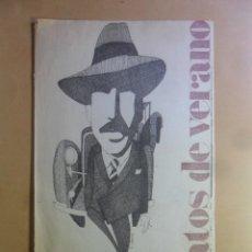 Coleccionismo de Periódico El País: RELATOS DE VERANO EL PAIS - EL SABUESO DEL HOTEL… - DASHIEL HAMMET. Lote 178926475