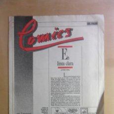 Coleccionismo de Periódico El País: Nº 16 - CLASICOS Y MODERNOS EL PAIS - COMICS . Lote 178926641