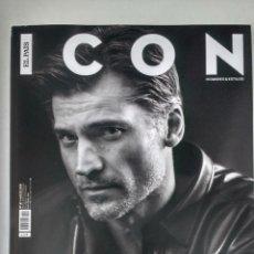Coleccionismo de Periódico El País: REVISTA ICON Nº 61 (MARZO 2019) P.V.P. 3,50 € NIKOLAJ COSTER WALDAU - NACHO CANUT - JOHN C. REILLY. Lote 179069858