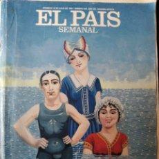 Coleccionismo de Periódico El País: EL PAIS SEMANAL Nº 640 DE 1989- STEPHEN KING- NICARAGUA- JOSELITO- REVOLUCION FRANCESA- WOMACK & WOM. Lote 179162580