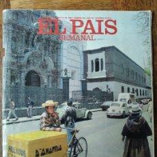 Coleccionismo de Periódico El País: EL PAIS SEMANAL Nº 643 DE 1989- LIMA PERU- DORIS DORRIE- EDWARD HOPPER- GALICIA- MARIA DEL MONTE.... Lote 179163436