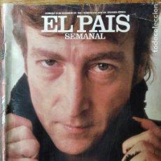 Coleccionismo de Periódico El País: EL PAIS SEMANAL Nº 610 DE 1988- JOHN LENNON- GEORGE LUCAS- ANGEL CASAS- EL PARALELO- LAURA FREIXAS... Lote 179175622