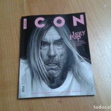 Coleccionismo de Periódico El País: ICON - Nº 68, EL PAIS - OCTUBRE 2019 - IGGY POP, EUSEBIO PONCELA, TONI SEGARRA, JUSTIN O´SHEA. Lote 179395571