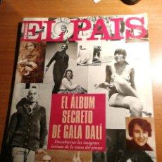 Coleccionismo de Periódico El País: EL PAIS. DALI. Lote 180159542