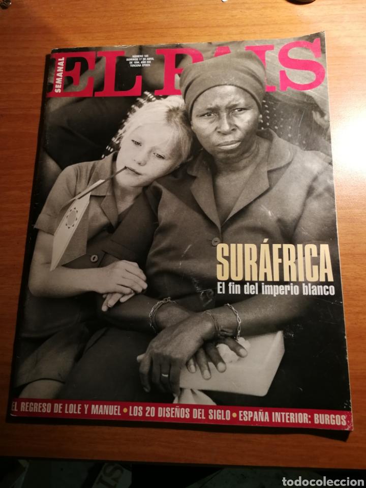 EL PAIS 165 (Coleccionismo - Revistas y Periódicos Modernos (a partir de 1.940) - Periódico El Páis)