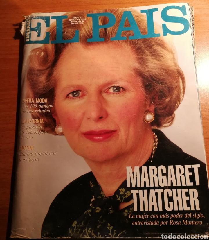 EL PAIS 151. MARGARET THATCHER (Coleccionismo - Revistas y Periódicos Modernos (a partir de 1.940) - Periódico El Páis)
