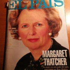 Coleccionismo de Periódico El País: EL PAIS 151. MARGARET THATCHER. Lote 180164145