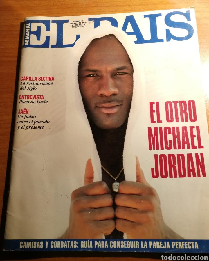 EL PAIS 159. MICHAEL JORDAN (Coleccionismo - Revistas y Periódicos Modernos (a partir de 1.940) - Periódico El Páis)