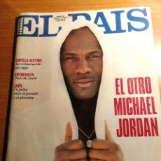 Coleccionismo de Periódico El País: EL PAIS 159. MICHAEL JORDAN. Lote 180164213