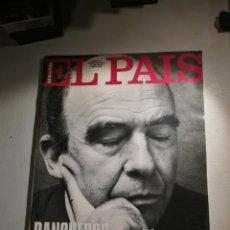 Coleccionismo de Periódico El País: REVISTA EL PAÍS SEMANAL NÚMERO 169. Lote 180891265