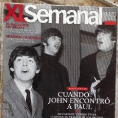Coleccionismo de Periódico El País: EL PAIS SEMANAL JULIO 2010. BEATLES. CUANDO JOHN ENCONTRÓ A PAUL.. Lote 181426377