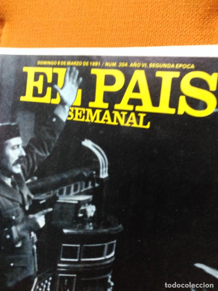 Coleccionismo de Periódico El País: El País semanal - 8 de marzo de 1981 - Foto 2 - 183828377