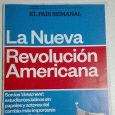 Coleccionismo de Periódico El País: EL PAÍS SEMANAL - NÚMERO 1992 - 30 DE NOVIEMBRE DE 2014 - LA NUEVA REVOLUCIÓN AMERICANA. OBAMA. Lote 183848390