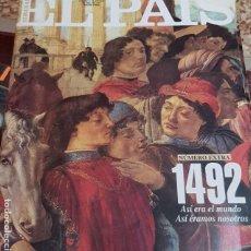 Coleccionismo de Periódico El País: EL PAÍS SEMANAL Nº 86 - 11 DE OCTUBRE DE 1992 - TERCERA ÉPOCA - EXTRA DESCUBRIMIENTO AMÉRICA 1492. Lote 184002902