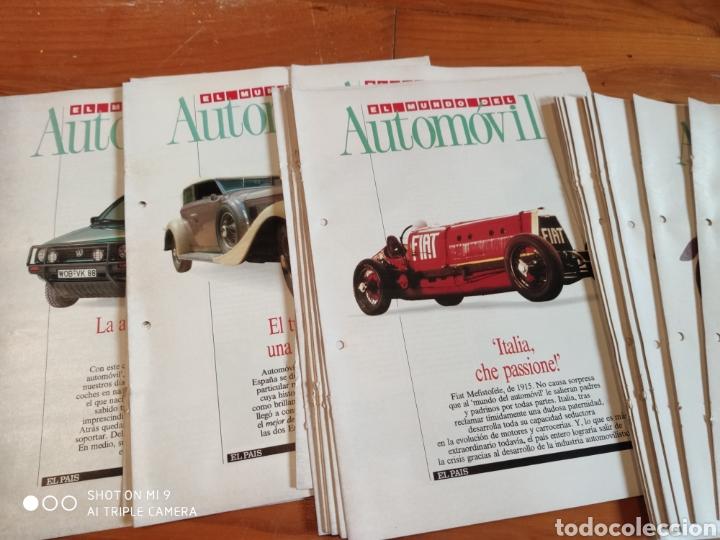 Coleccionismo de Periódico El País: El mundo del automóvil. El país - Foto 2 - 184186362