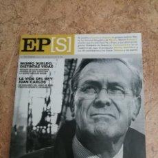 Coleccionismo de Periódico El País: REVISTA EL PAÍS SEMANAL N1382 EL SEÑOR DE LA GUERRA. Lote 184445557