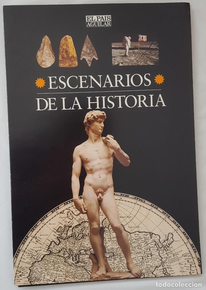 ESCENARIOS DE LA HISTORIA. EL PAÍS AGUILAR. COMPLETO (Coleccionismo - Revistas y Periódicos Modernos (a partir de 1.940) - Periódico El Páis)