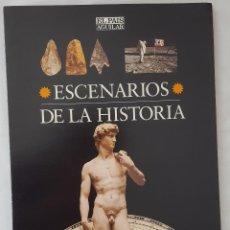 Coleccionismo de Periódico El País: ESCENARIOS DE LA HISTORIA. EL PAÍS AGUILAR. COMPLETO. Lote 184575225