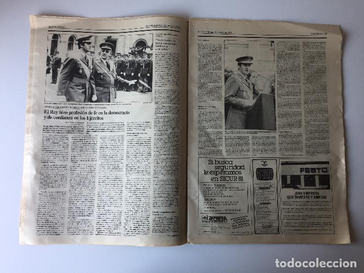 Coleccionismo de Periódico El País: LOTE 2 PERIÓDICOS EL PAÍS - TRAS EL GOLPE DE ESTADO 23F TEJERO ESPAÑA - 26 FEB Y 1 DE MAR 1981 - Foto 2 - 186446012