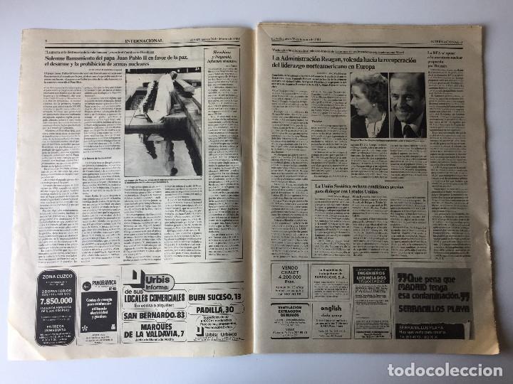 Coleccionismo de Periódico El País: LOTE 2 PERIÓDICOS EL PAÍS - TRAS EL GOLPE DE ESTADO 23F TEJERO ESPAÑA - 26 FEB Y 1 DE MAR 1981 - Foto 5 - 186446012